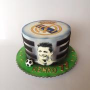 Torta Futbalová Real Madrid