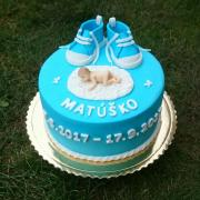 Torta Krstinová tortička 1