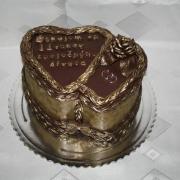 Torta Čokoládová k výročiu sobáša
