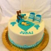 Torta Krstinová pre chlapca