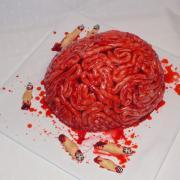 Torta na halloweenskú párty