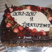 Torta rozluckova