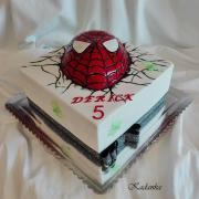 Torta Spiderman...