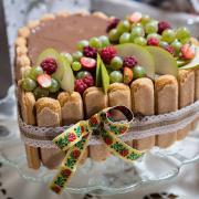 Torta Ovocná s piškotami
