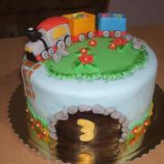Torta s vlacikom