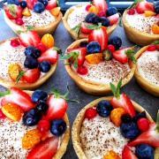 Torta ovocné košíčky
