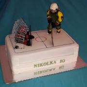Torta tortička pre moju vnučku /hokejistku/