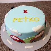 Torta autíčka