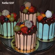 Torta farebné minitortičky
