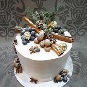 Torta tortička s nádychom vianoc