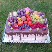Torta Cokoladova torticka s ovocim 1