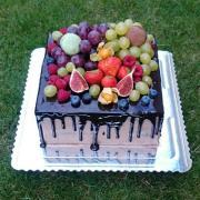 Torta Cokoladova torticka s ovocim