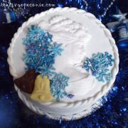 Torta Zimná pani