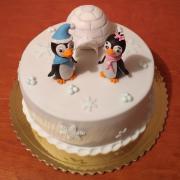 Torta Detská s tučniakmi