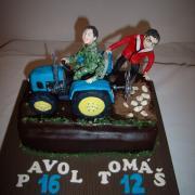 Torta mladí poľnohospodári