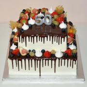 Torta K 50-tim narodeninám