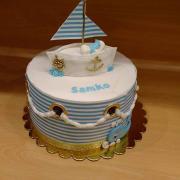 Torta Námornicka krstinova tortička