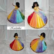 Torta Dúhová princezná...