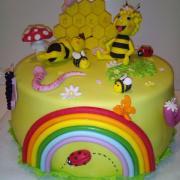 Torta včielka Maja