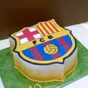Torta FCB podľa vzoru