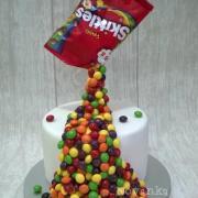Torta Skittles :-)