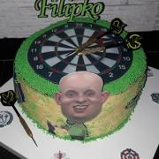 Torta Šípkarska ( pre môjho syna,fanúšika Michaela van Gerwena)