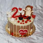 Torta jezko na torte :-)