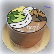 Torta LOGO turistov
