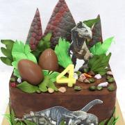 Torta S dinosaurami