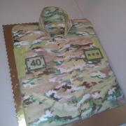 Torta Vojenská košeľa