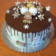 Torta Zimná drip torta