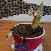 Torta London tea