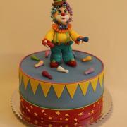 Torta s klaunom