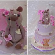 Torta Sladký macík k 1. narodeninám