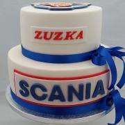 Torta Pre milovníčku SCANIE