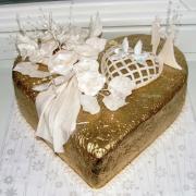 Torta Zlato biela svadobná