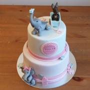 Torta Krstinová so sloníkmi