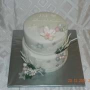 Torta Vianočná zimná torta