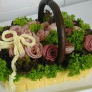 Torta Slaná torta ,,košík,,