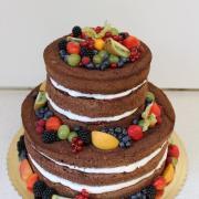 Torta Nahá s ovocím