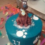 Torta Scooby