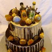 Torta Čokoládová s fľaštičkami