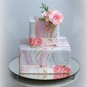 Torta narodeninová -melír