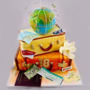 Torta Cestovatelke