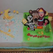 Torta krst narodeniny