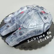 Torta Millenium Falcon