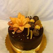 Torta Čokoládová s ľaliou