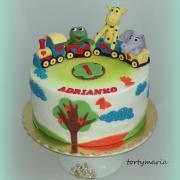 Torta tortička s vláčikom