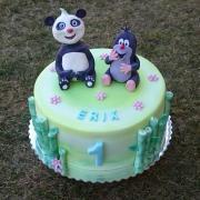 Torta Krtko a Panda