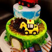 Torta s mašinkami